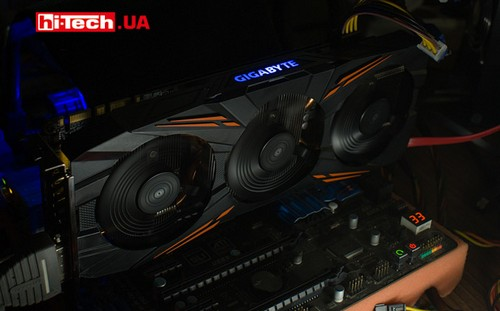 Подсветка Gigabyte GeForce GTX 1070 Ti Gaming 8G