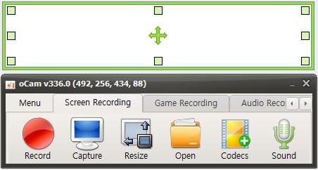 oCam - бесплатная программа для записи видео с экрана со встроенным редактором