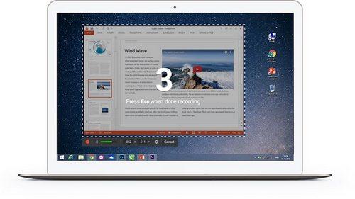 isping - бесплатная программа для записи видео с экрана