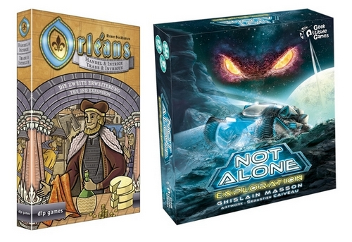 Orleands and Not Alone expansions