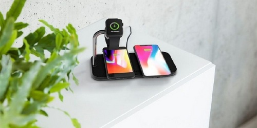 ZENS Dual + Watch Wireless Charger